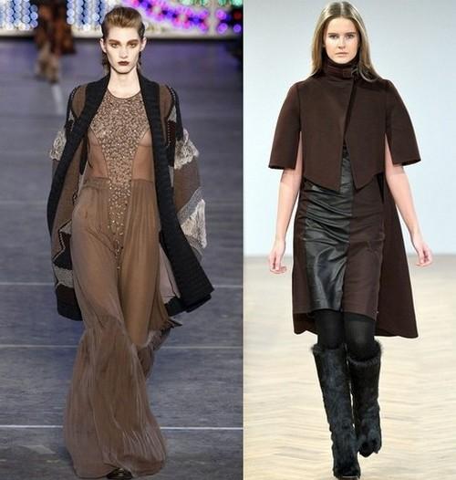 Модные платья зима 2012, Kenzo, Pringle of Scotland