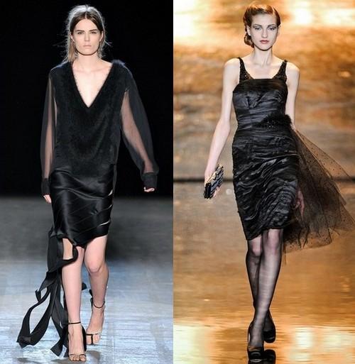 Вечерние платья зима 2012, Alexander Wang, Badgley Mischka