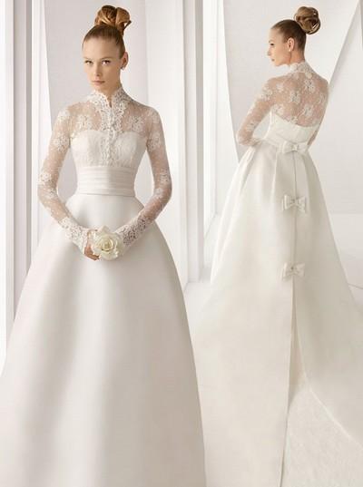 Зимнее свадебное платье 2012 Rosa Clara