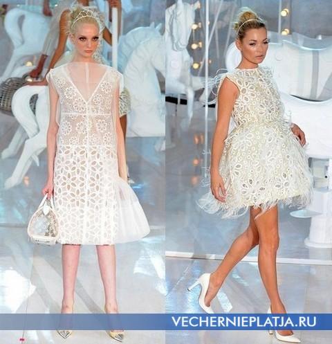 самые красивые выпускные платья 2012