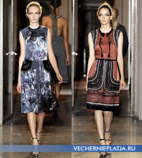 Платья Весна-Лето 2012 с принтом - коллекция Rue du Mail
