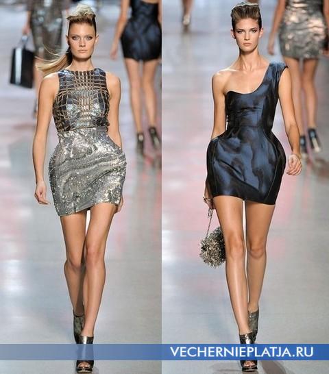 Прямые платья средней длины и мини.