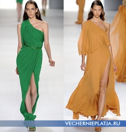 Летние платья в греческом стиле 2012