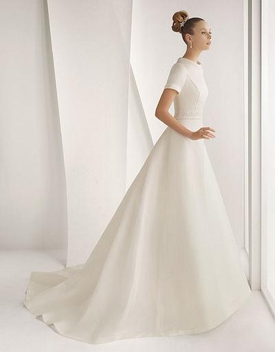 Свадебное платье в стиле ретро от Розы Клары (Rosa Clara), коллекция Весна-2012