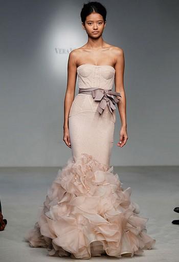 Свадебные платья 2012 Веры Вонг