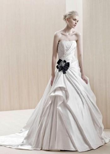 Модные свадебные платья 2012 фото