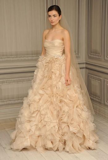 Свадебные платья 2012 Моник Люлье (Monique Luillier)
