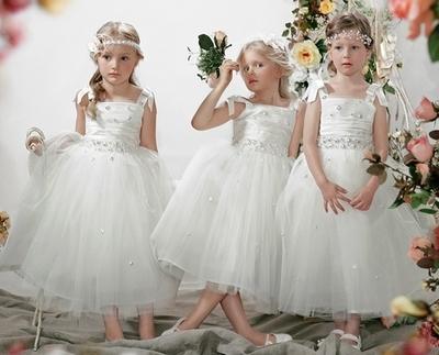 Платья для девочек на свадьбу, Папилио 2012