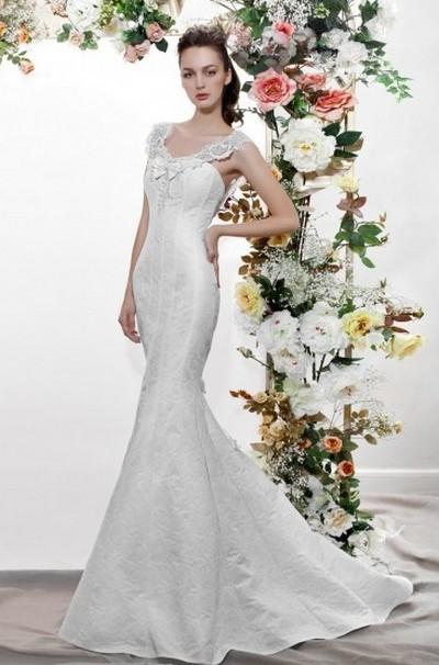 Свадебное платье русалка от Papilio (Папилио) 2012