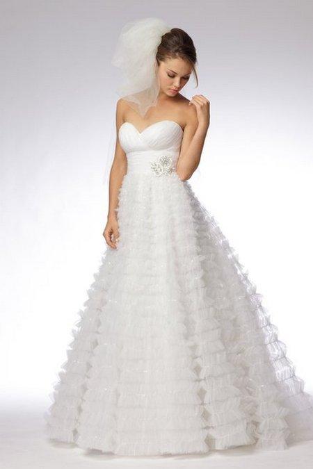 свадебное платье фасон принцесса