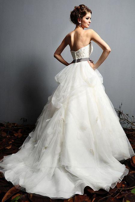 Свадебные платья принцесса 2012