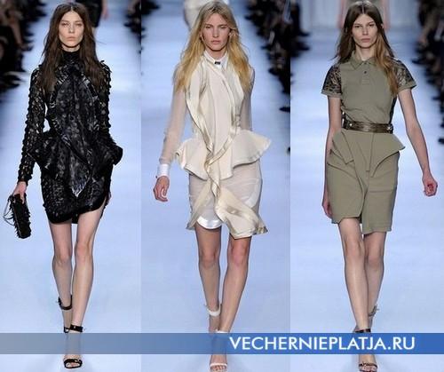 Платья рубашки от Givenchy, Весна-Лето 2012