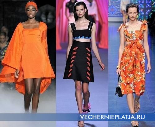 Модные платья с квадратным вырезом 2012 от Jean-Charles de Castelbajac, Viktor & Rolf, (Dolce & Gabbana