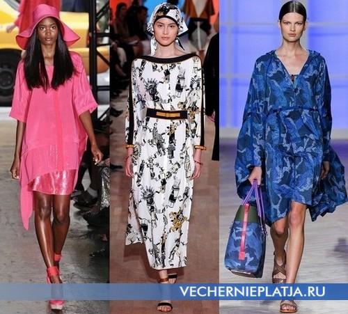 Платья туники 2012 от DKNY, Hermes, Tommy Hilfiger