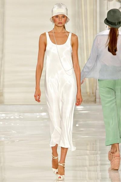 Платья в бельевом стиле 2012 от Ralph Lauren