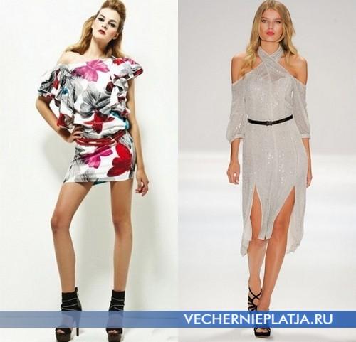 Летние открытые платья от Miss Sixty и Luca Luca