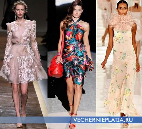 Летние платья с принтом от Valentino, Salvatore Ferragamo, Ralph Lauren