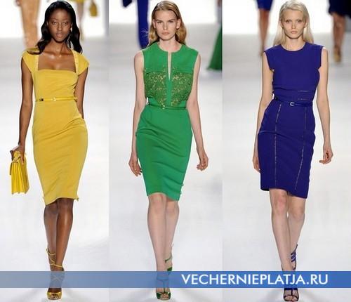 Какие платья сейчас в моде – платья-футляр от Elie Saab
