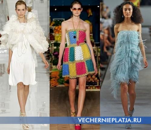 Какие платья модны в этом сезоне 2012 – Ralph Lauren, Moschino, Oscar dela Renta