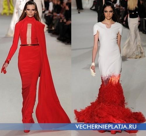 Вечерние платья от Stephane Rolland – модные в 2012 году