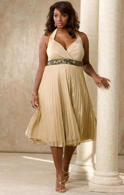 Платье на выпускной 2012 для полных девушек.