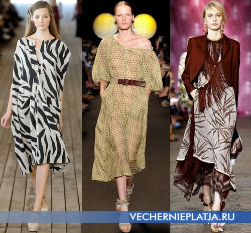 Этно платья фото, Весна-Лето 2012, Leroy, Paul & Joe, Missoni