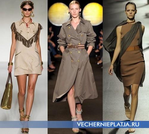 Платья в этно стиле Весна-Лето 2012 от Moschino, Paul & Joe, Lanvin