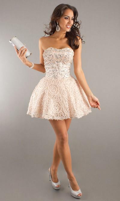 Подбираем мини платье 2012 для