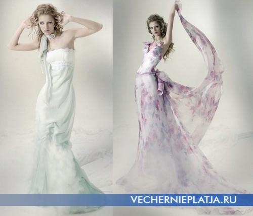 Сведебные летние платья 2012 Marina Mansanta