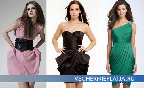 Модное платье тюльпан фото