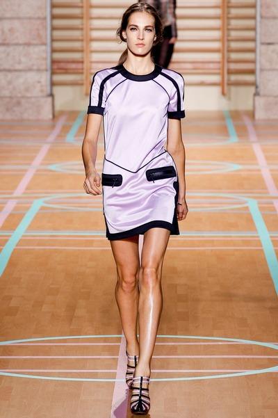 Спортивное теннисное платье от Versus, 2012