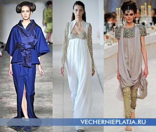 Красивые восточные платья от Corrie Nielson, Antonio Berardi, Chanel