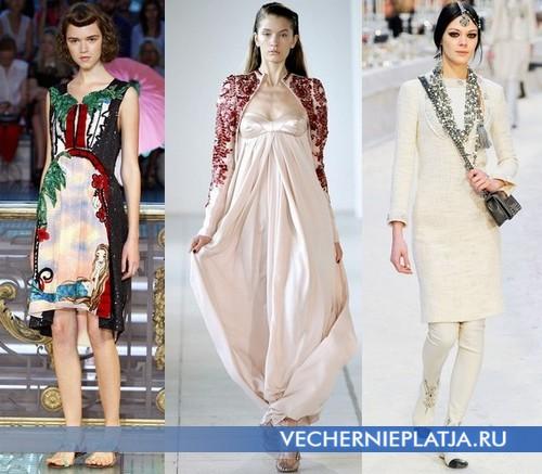 Платья в восточном стиле от Tsumori Chisato, Antonio Berardi, Chanel