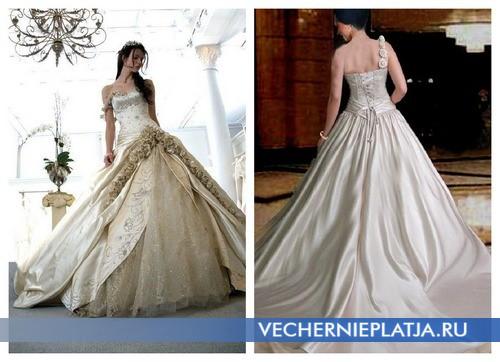 История свадебного платья Средневековья