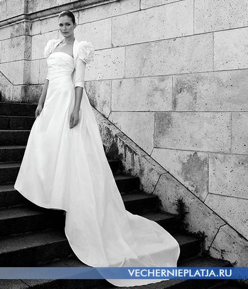 История белого свадебного платья