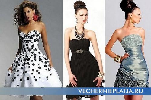 Вечерние платья в стиле стиляг