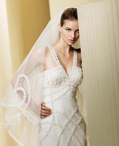Из чего делают фату для свадебного платья