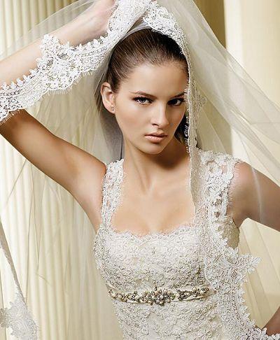 Как правильно выбрать фату для свадебного платья
