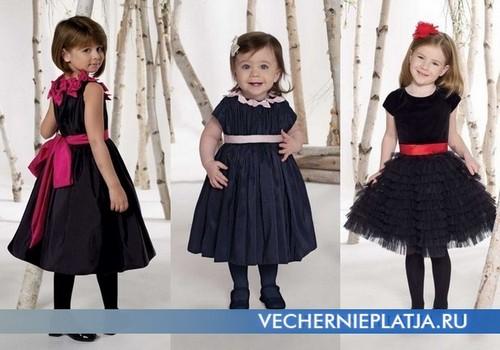 Красивые вечерние платья для модных девочек