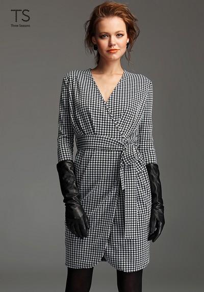 Классический узор платья гленчек 2012, коллекция Three Seasons