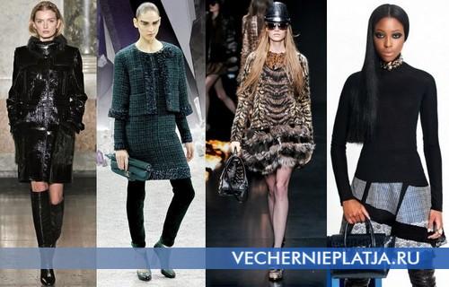 Теплые платья для Нового года 2013
