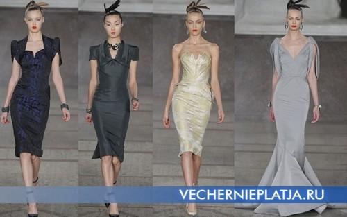 Вечерние платья для корпоративного Нового года 2013, Zac Posen