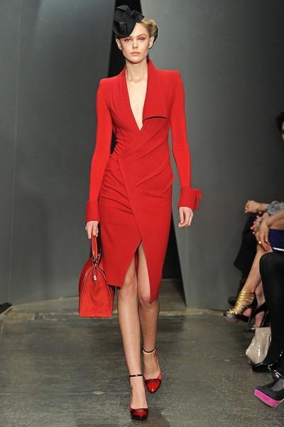 Платья осень 2012 фото, Donna Karan
