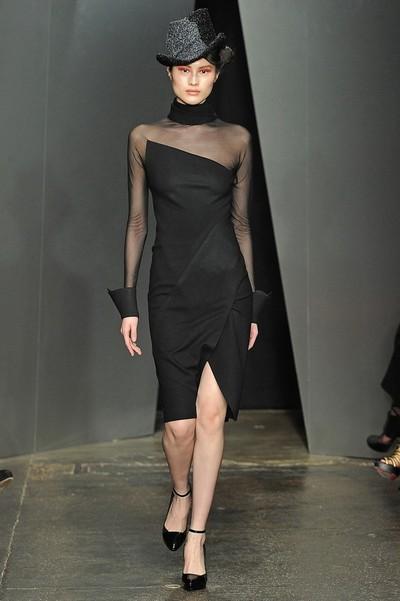 Вечерне деловые платья осень 2012 фото, Donna Karan