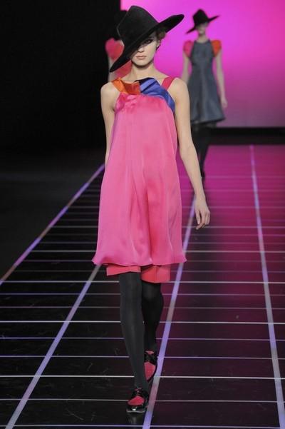 Платья с шортами Giorgio Armani Осень-Зима 2012-2013