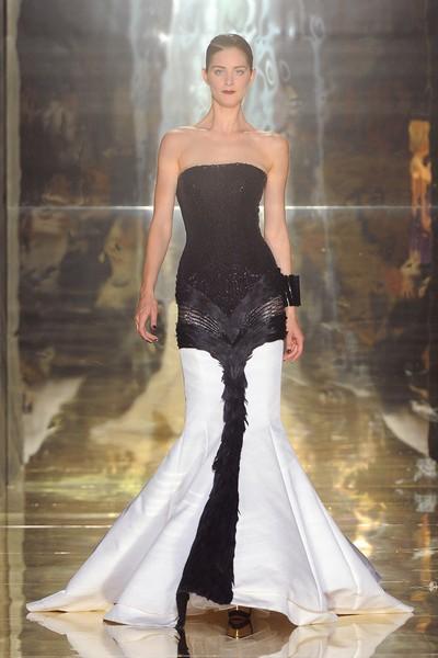 Что надеть на Новый год – вечерние платья от Georges Chakra, 2012-2013
