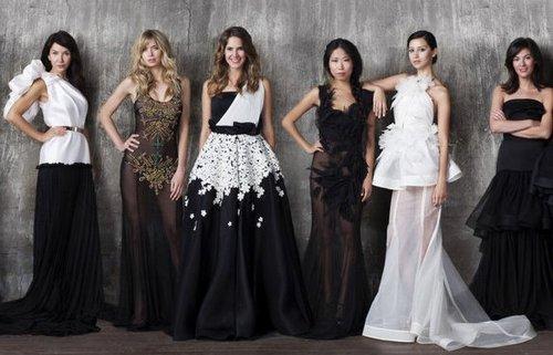 Юбилейная коллекция вечерних платьев Киры Пластининой 2012