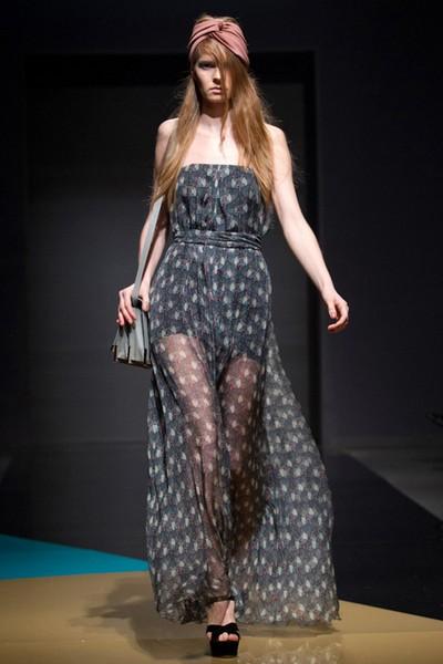Шифоновые платья коллекции LUBLU Kira Plastinina Осень-Зима 2012-2013