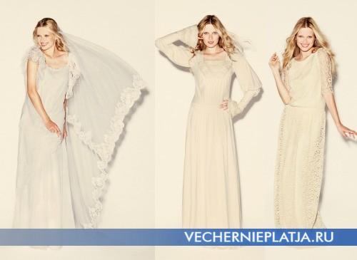 Свадебные платья осень 2012 от Delphine Manivet