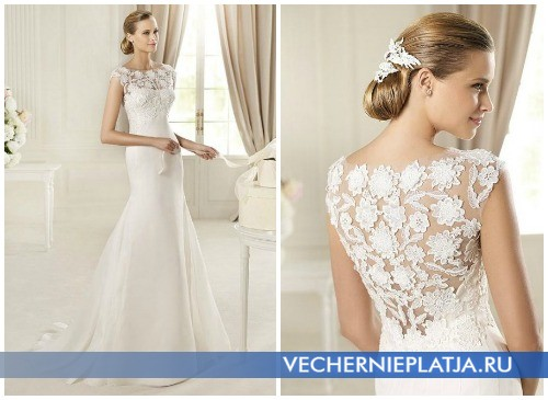 Свадебные платья годе на осень 2012 фото